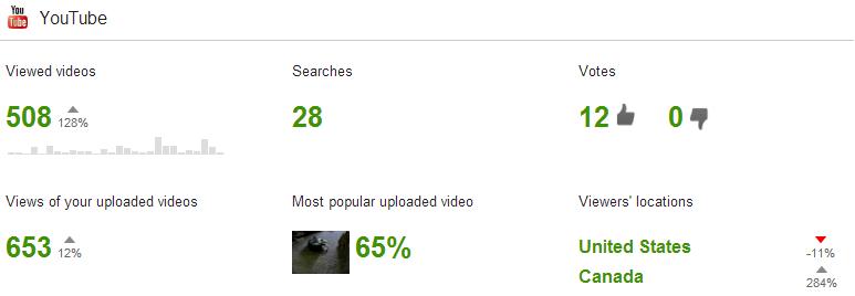 Google Youtube Activity